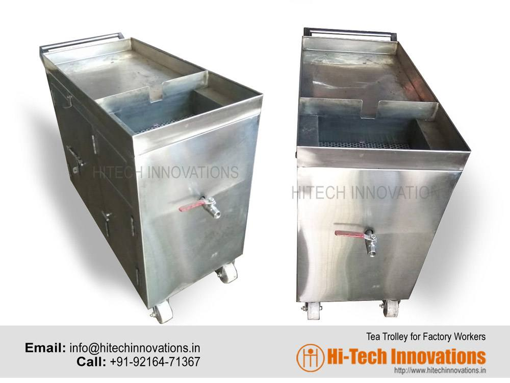 Tea Trolley for Factory Workers