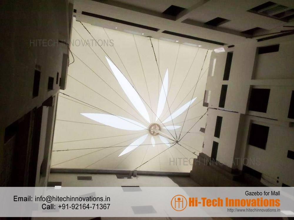 Tensile Gazebo For Mall Manufacturer