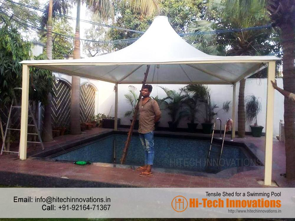 Tensile Shed for Swimming Pool Manufacturer