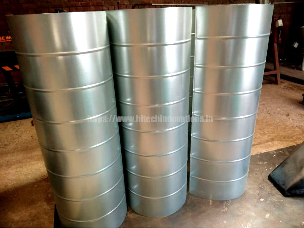 Round Fume Ducting for Fume Extraction