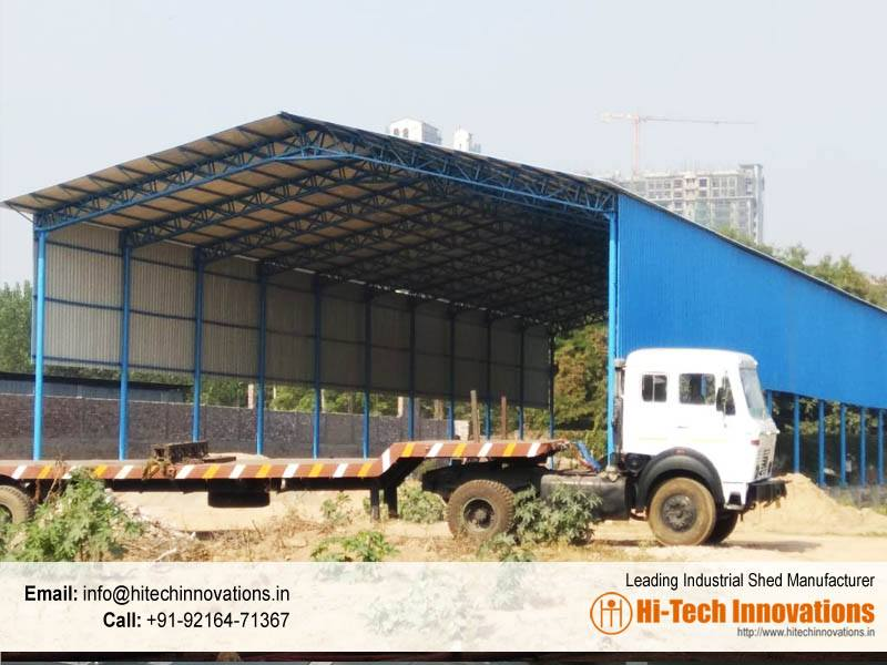 Industrial Shed Manufacturer