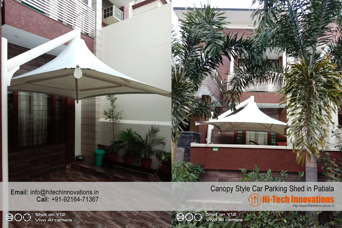 Car Parking Shed (Canopy Style) in Patiala