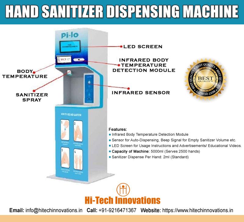 Hand Sanitizer Dispensing Machine