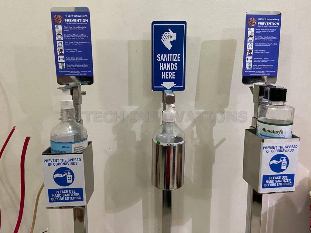 Sanitizer Dispenser Bottle Holder