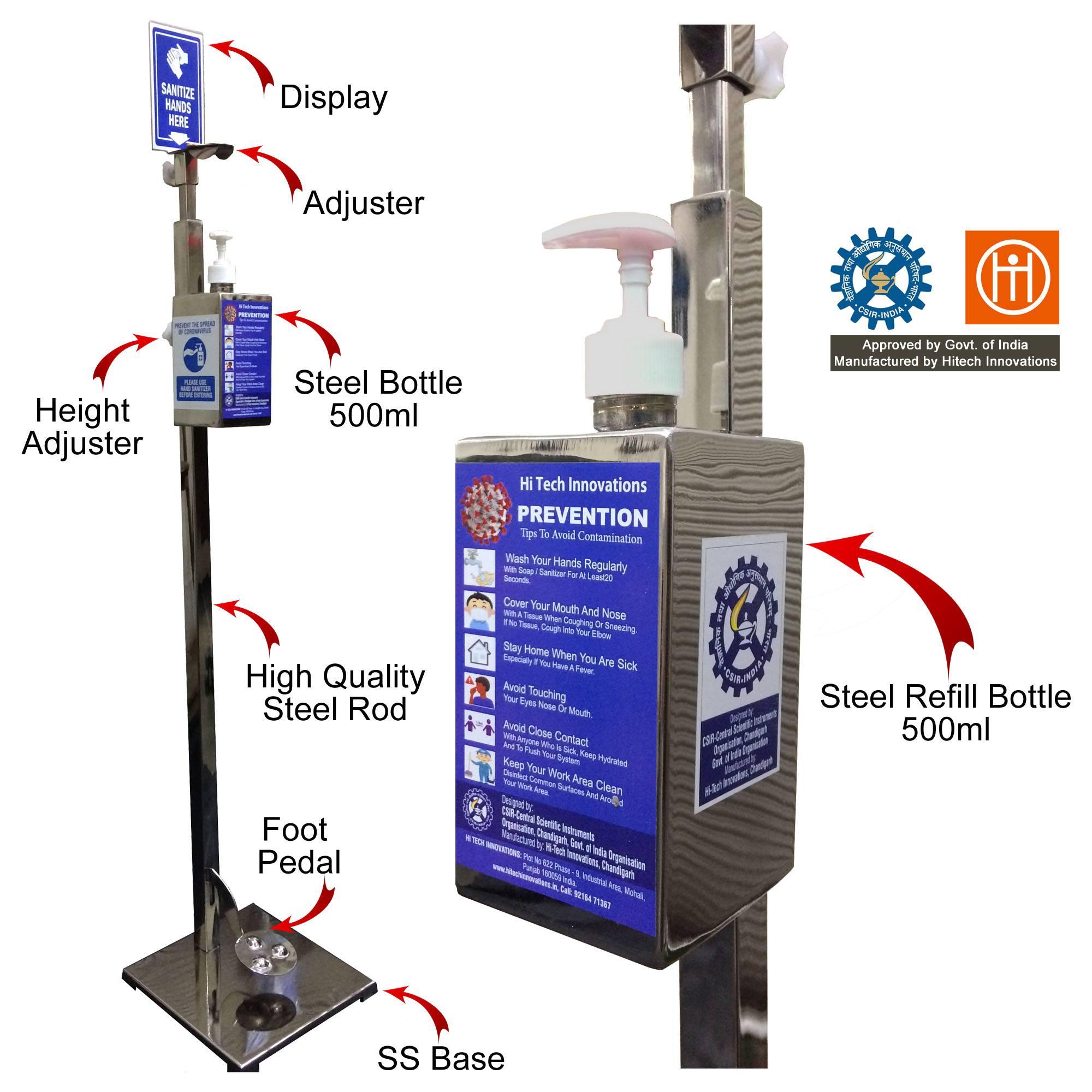 Sanitizer Dispenser Stand