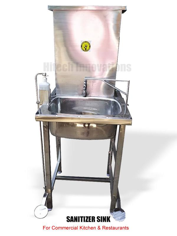 Sanitizer Wash Basin - Sanitizer Station