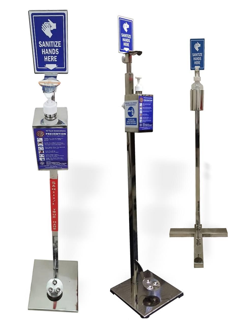 Three Sanitizer Dispenser Models