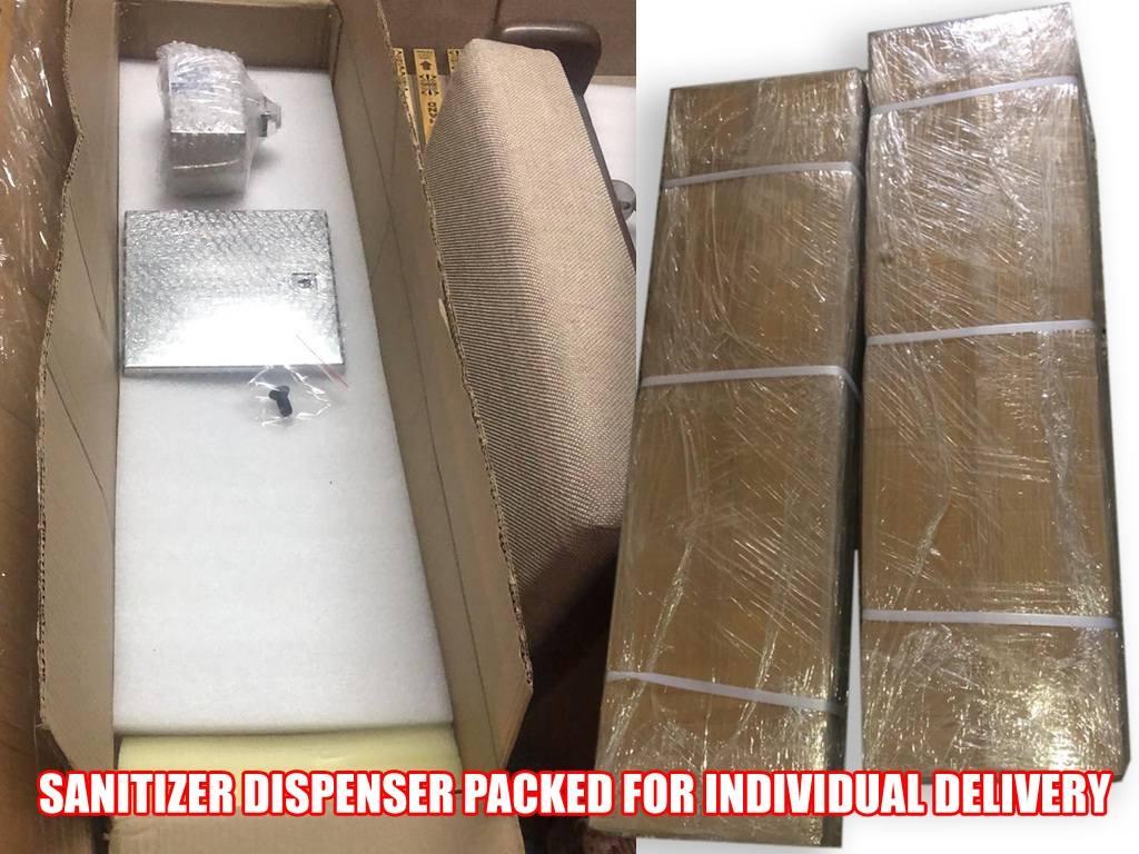 Sanitizer Dispenser Packed