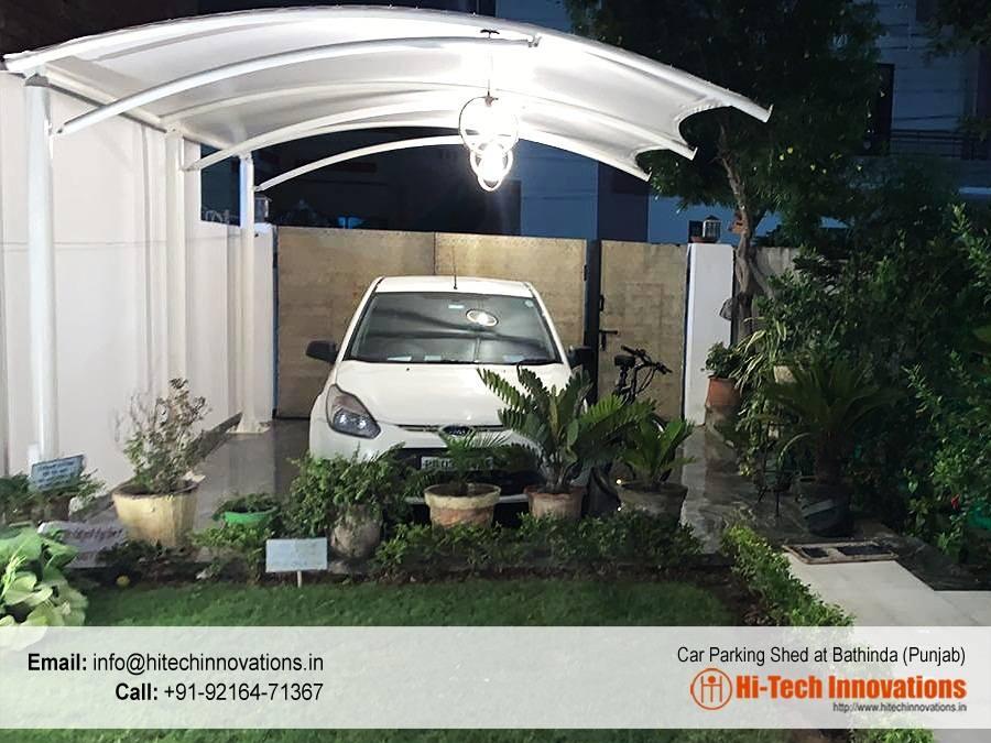 Tensile Car Parking Shed - Bathinda - 001