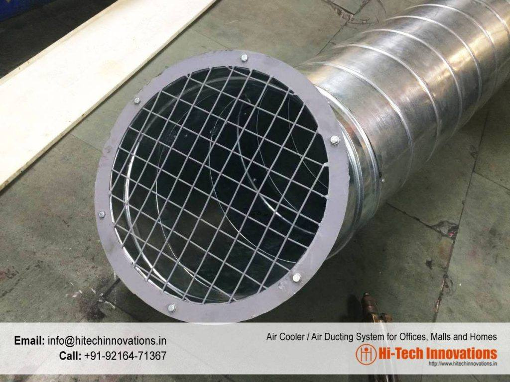 Air Conditioning and Cooler Ducting