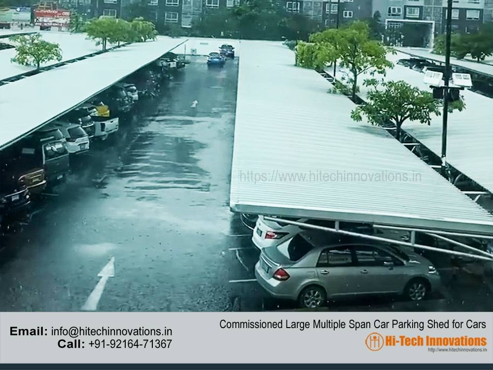 Commissioned Multiple Car Parking Shed