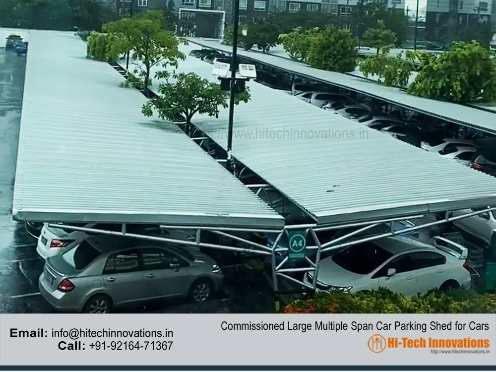 Car Parking Shed for Shopping Mall