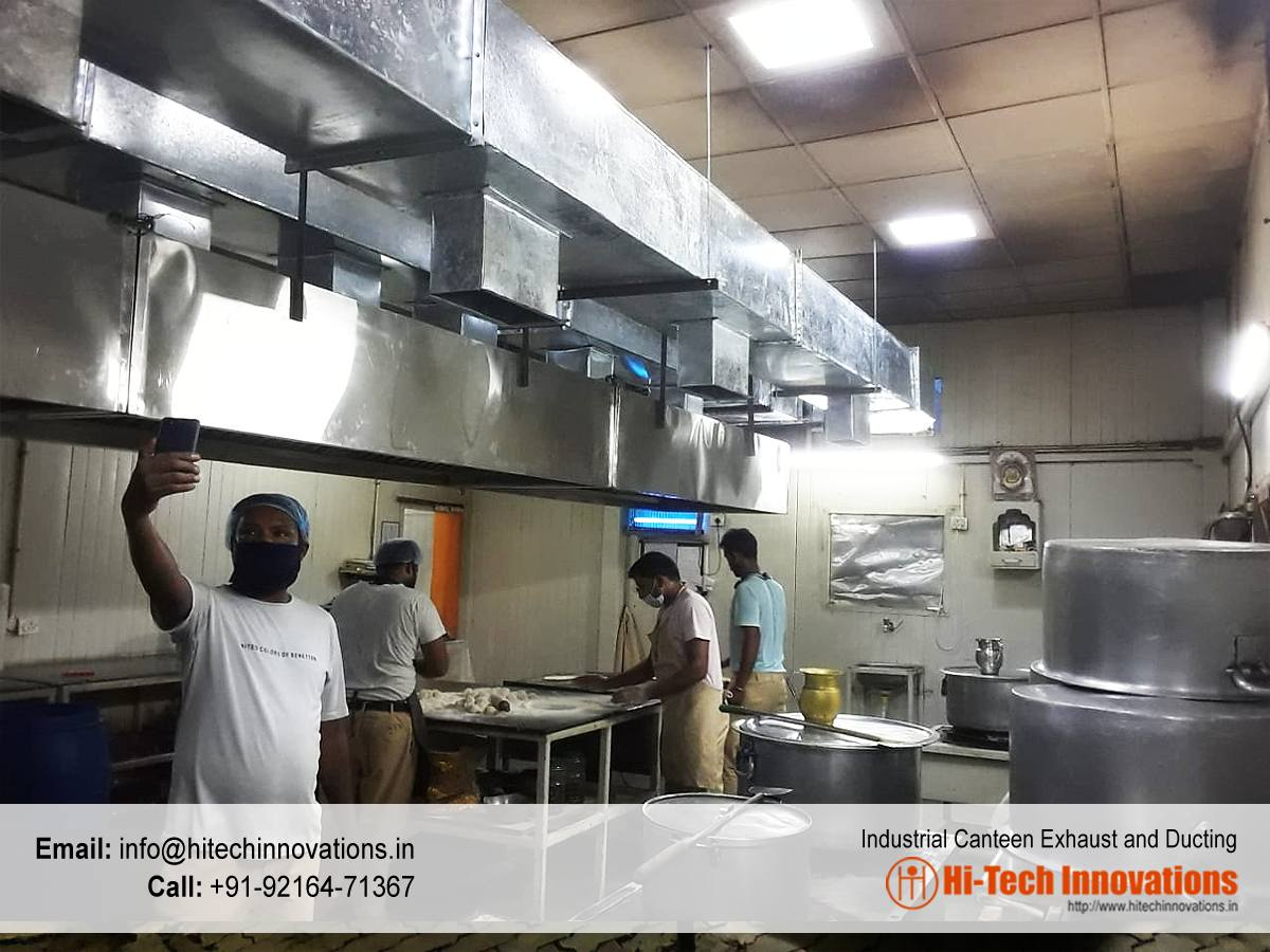 Canteen Exhaust and Fume Ducting