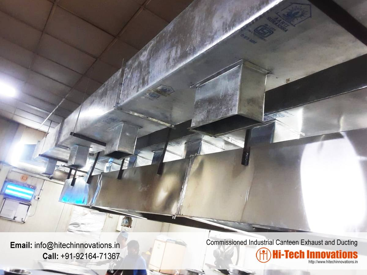 Industrial Canteen Exhaust and Ducting