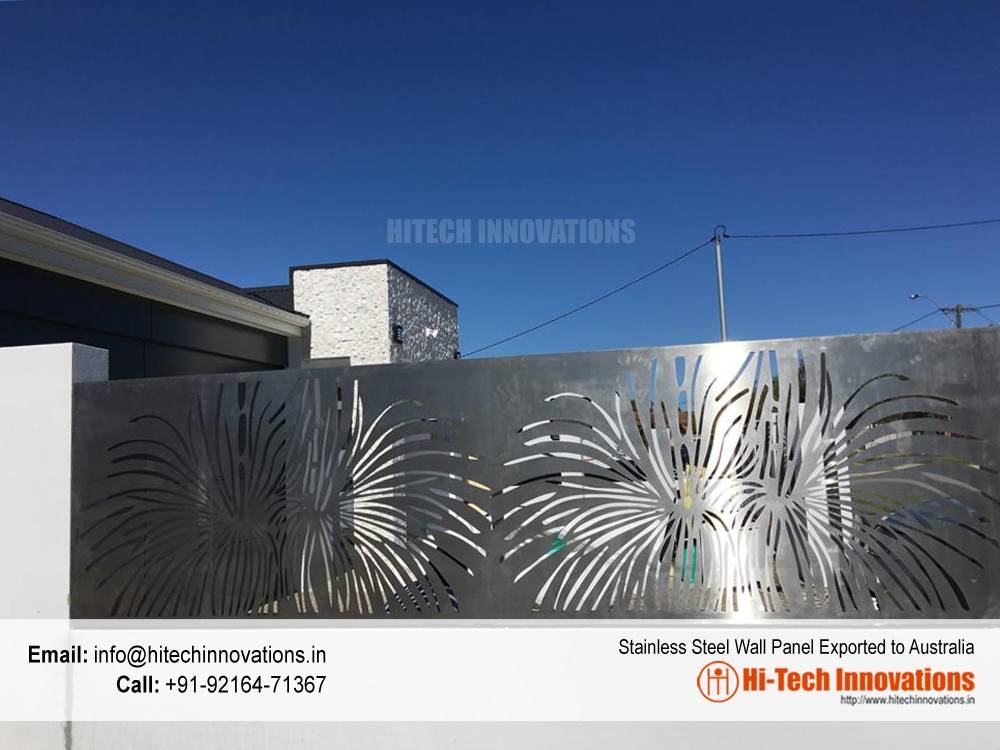 Designer Steel Wall Panel in Australia