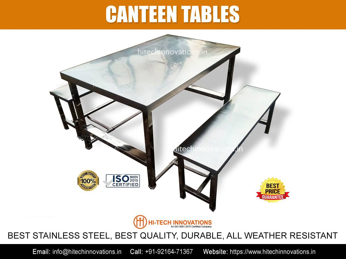 Canteen Tables for Hotels, Restaurants, Dhabas