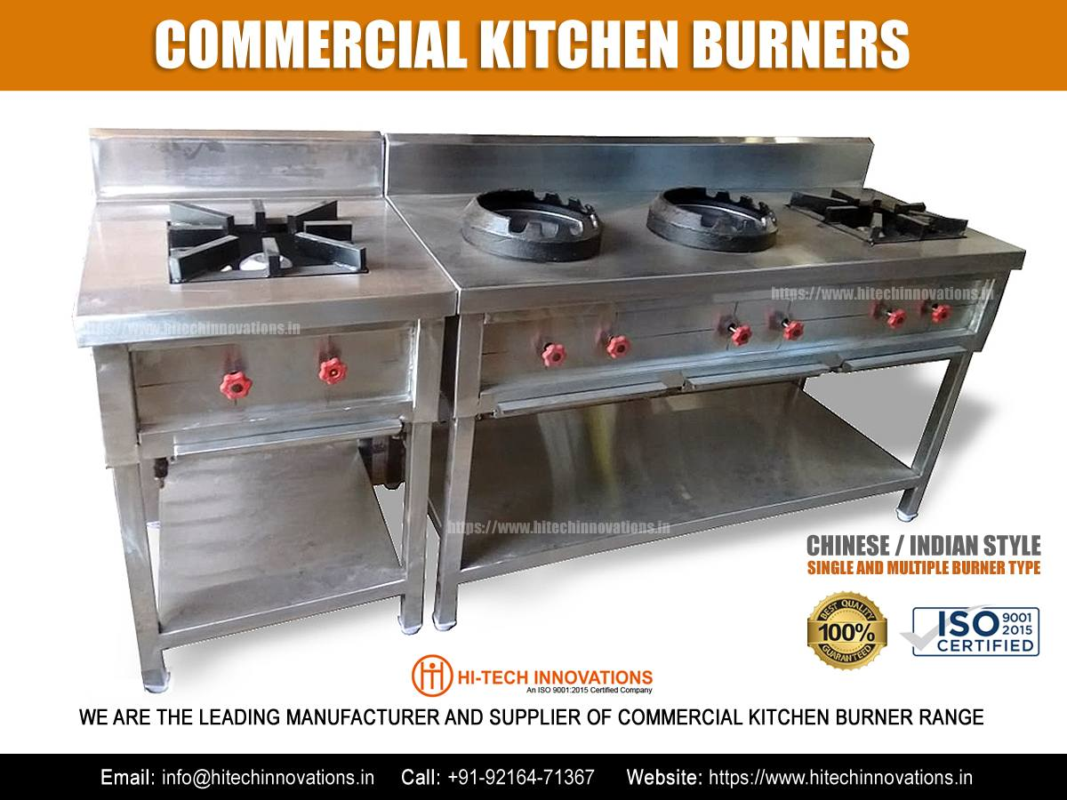 Commercial Kitchen Burner Chinese Indian Style