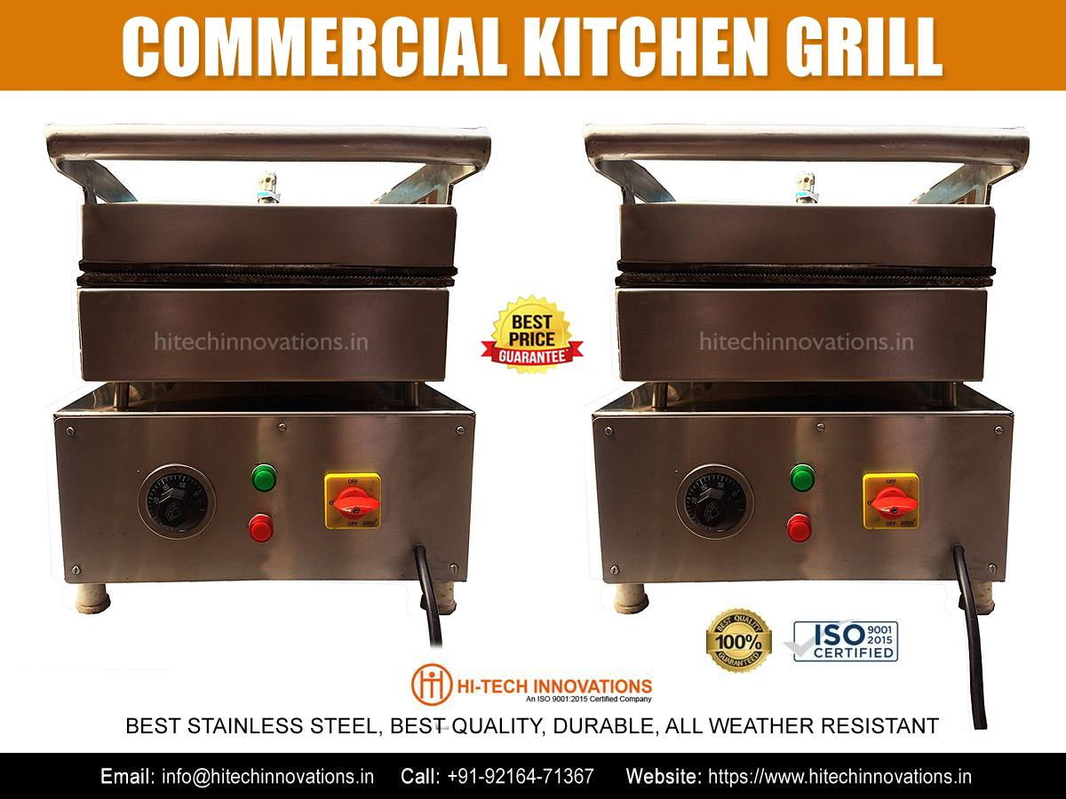 Commercial Kitchen Grill