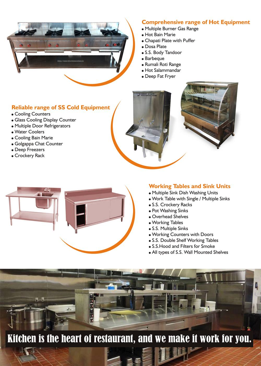 Commercial Kitchen Brochure Page 2
