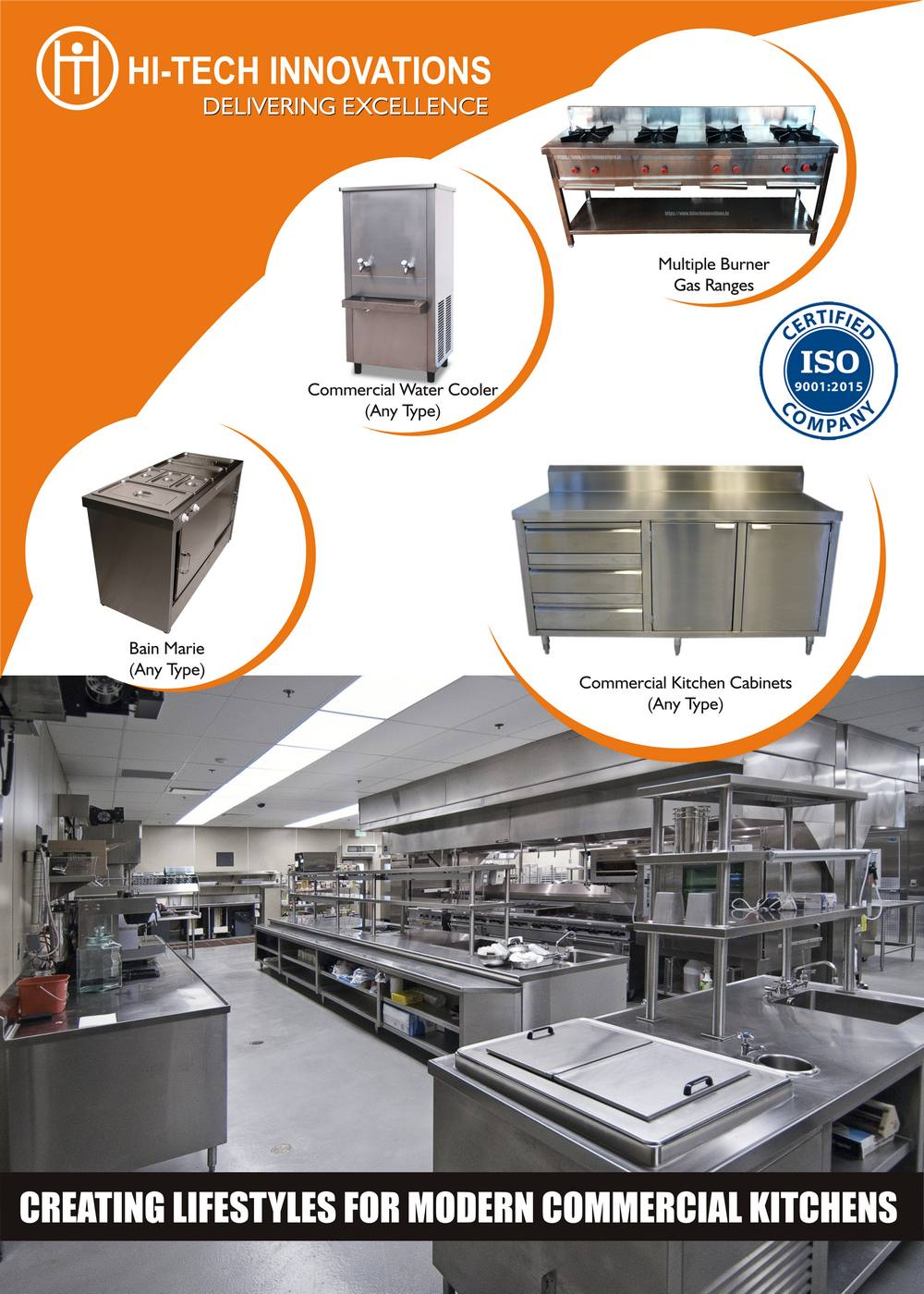 Commercial Kitchen Brochure - Cover Page