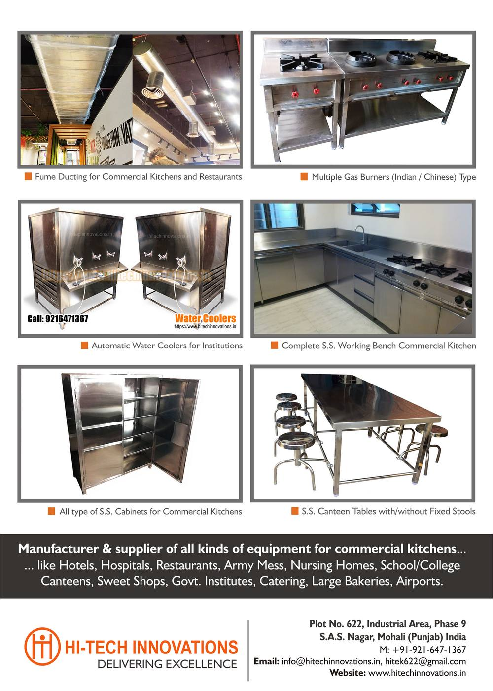 Commercial Kitchen Brochure - Commercial Kitchen Equipment