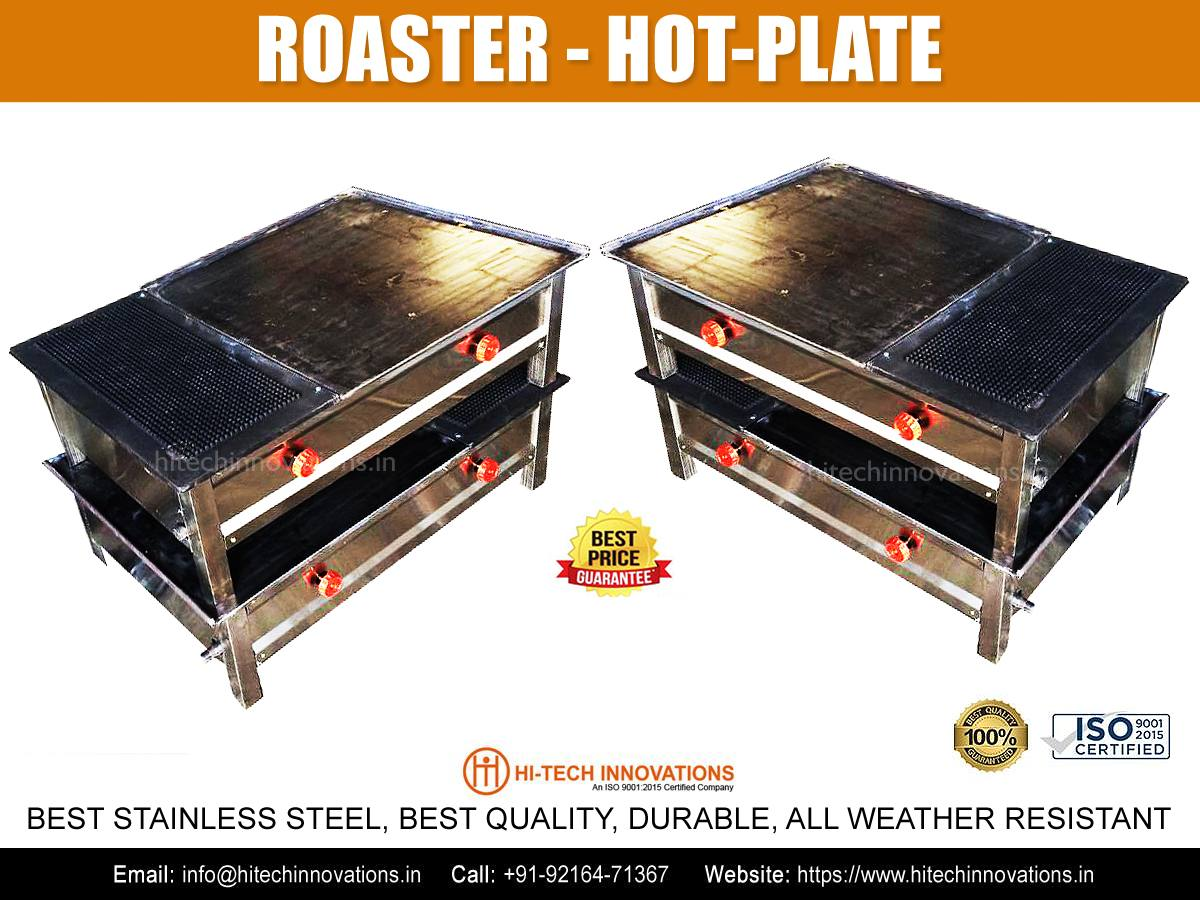 Roaster Hot Plate for Commercial Kitchen