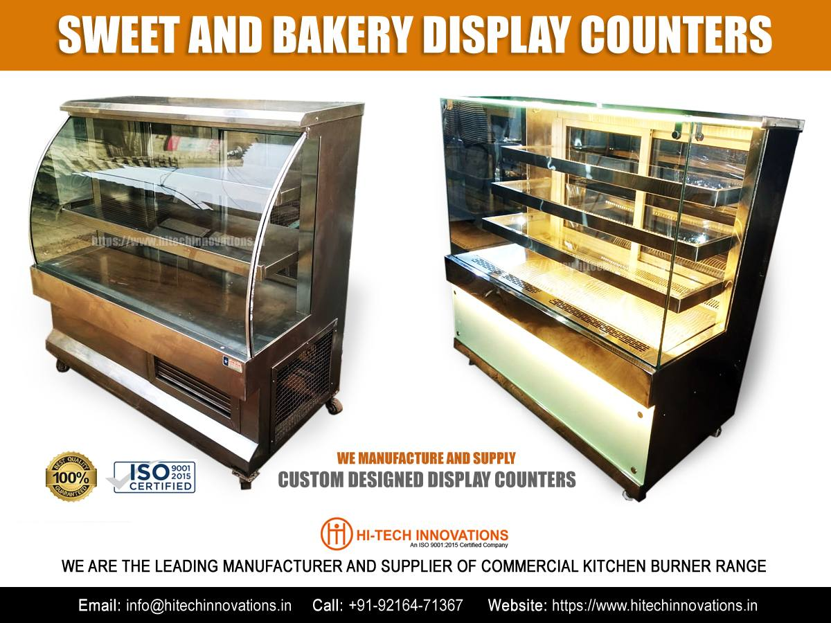 Sweet Shop and Bakery Display Counters