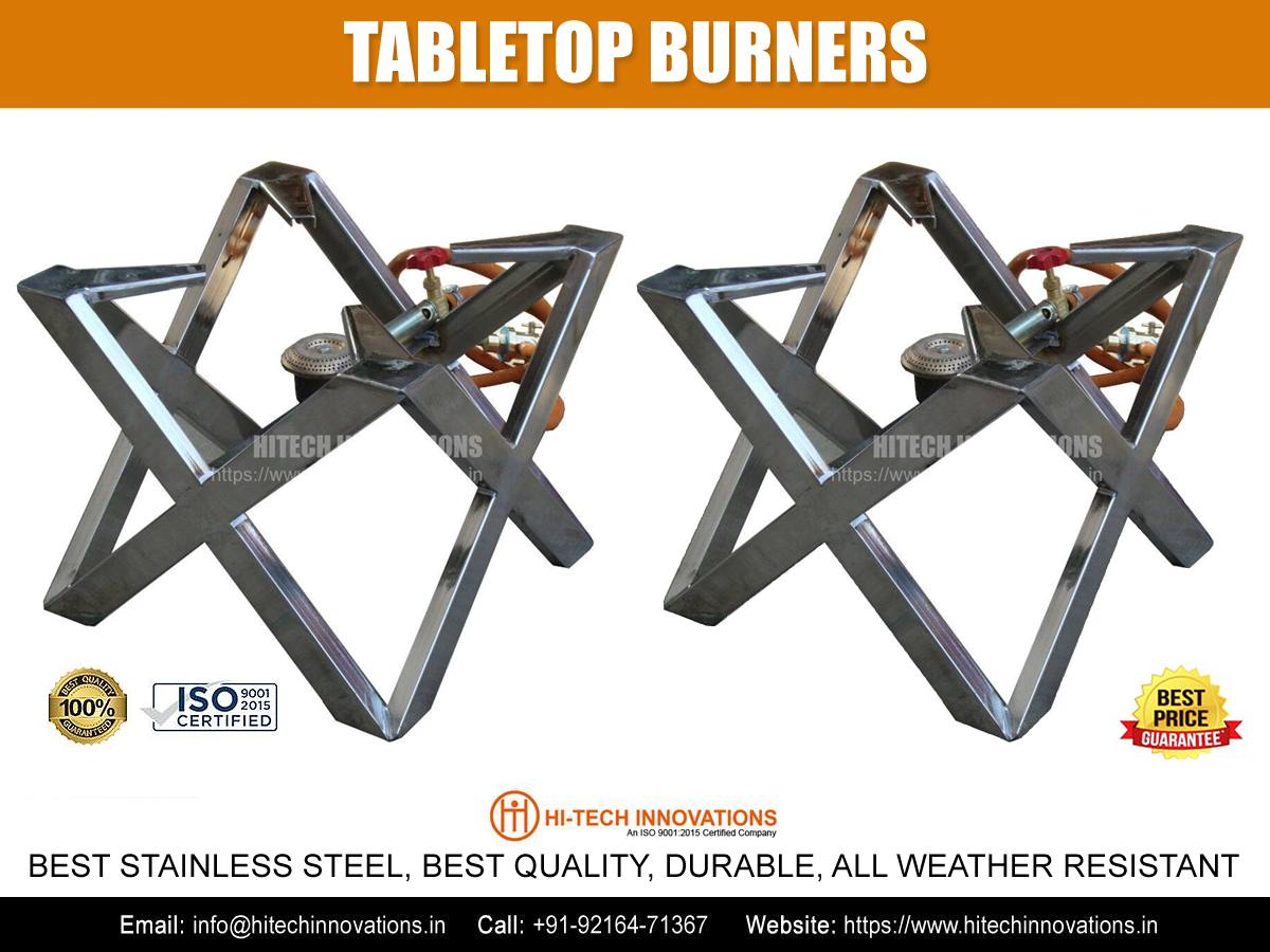 Table-Top Burners for Commercial Kitchen