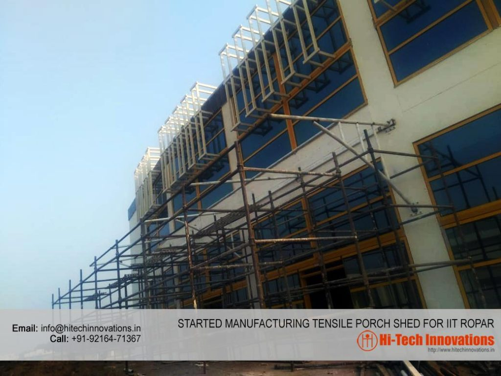 Tensile Porch Shed for IIT Ropar - 001