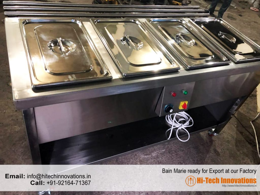 Bain Marie Ready for Export at our Factory