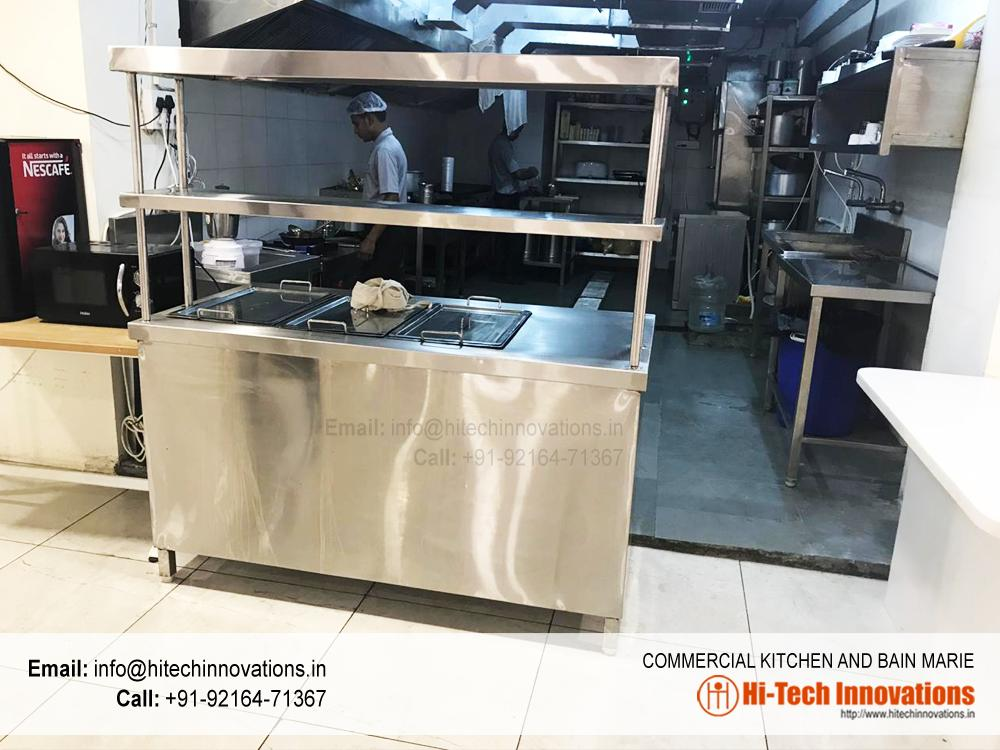 Commercial Kitchen with Bain Marie