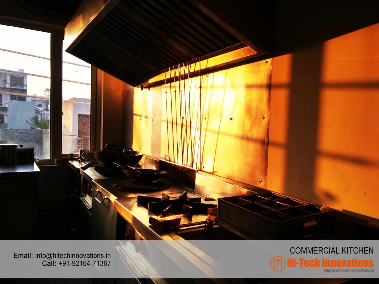 Complete Commercial Kitchen Setup