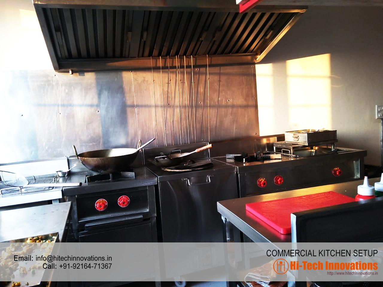 Commercial Kitchen Equipment Manufacturer Supplier India Kitchen Burners Water Cooler Working Table Hitech Innovations