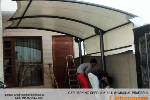 Car Parking Shed in Kullu - Himachal Pradesh