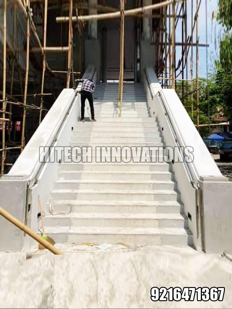 Installing Railing for AIIMS Bathinda