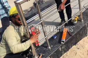 Ramp Railing for Handicapped