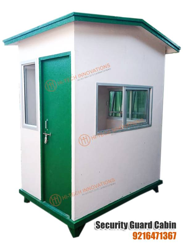 FRP Security Guard Cabin (Right Side View)
