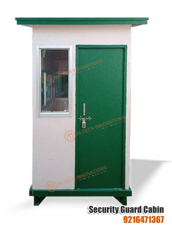 FRP Security Guard Cabin (Front View)
