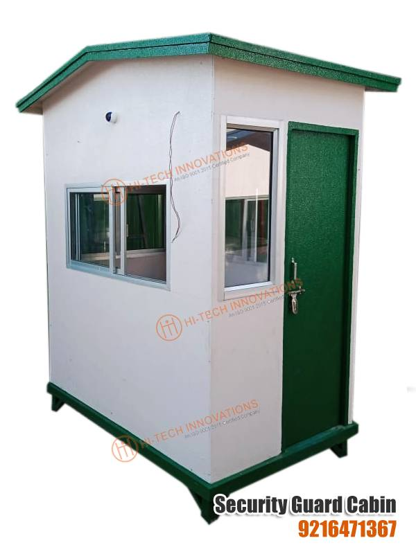 FRP Security Guard Cabin (Left Side View)