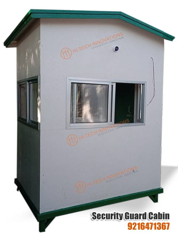 FRP Security Guard Cabin (Backside View)