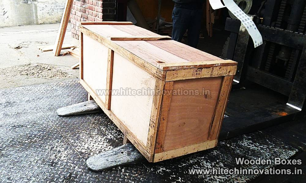 Wooden Boxes for Packing