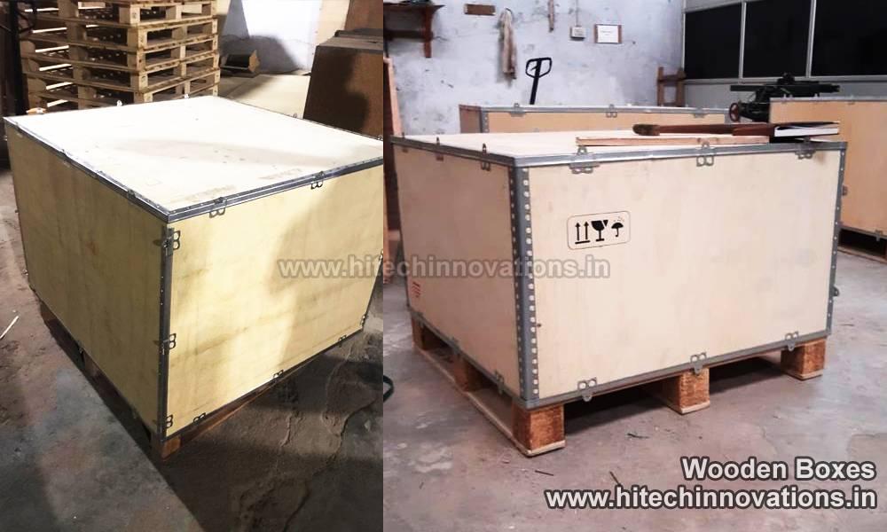 Nail-less Wooden Boxes