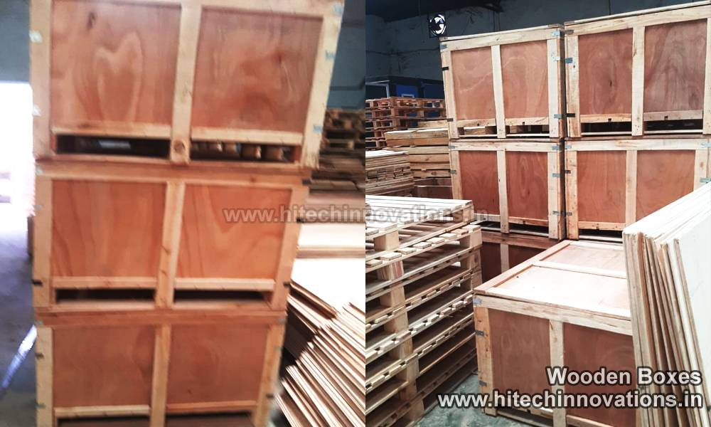 Heat Treated Wooden Boxes