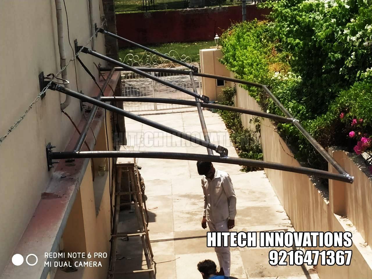 Tensile Structure for Car Parking Shed - Jalandhar