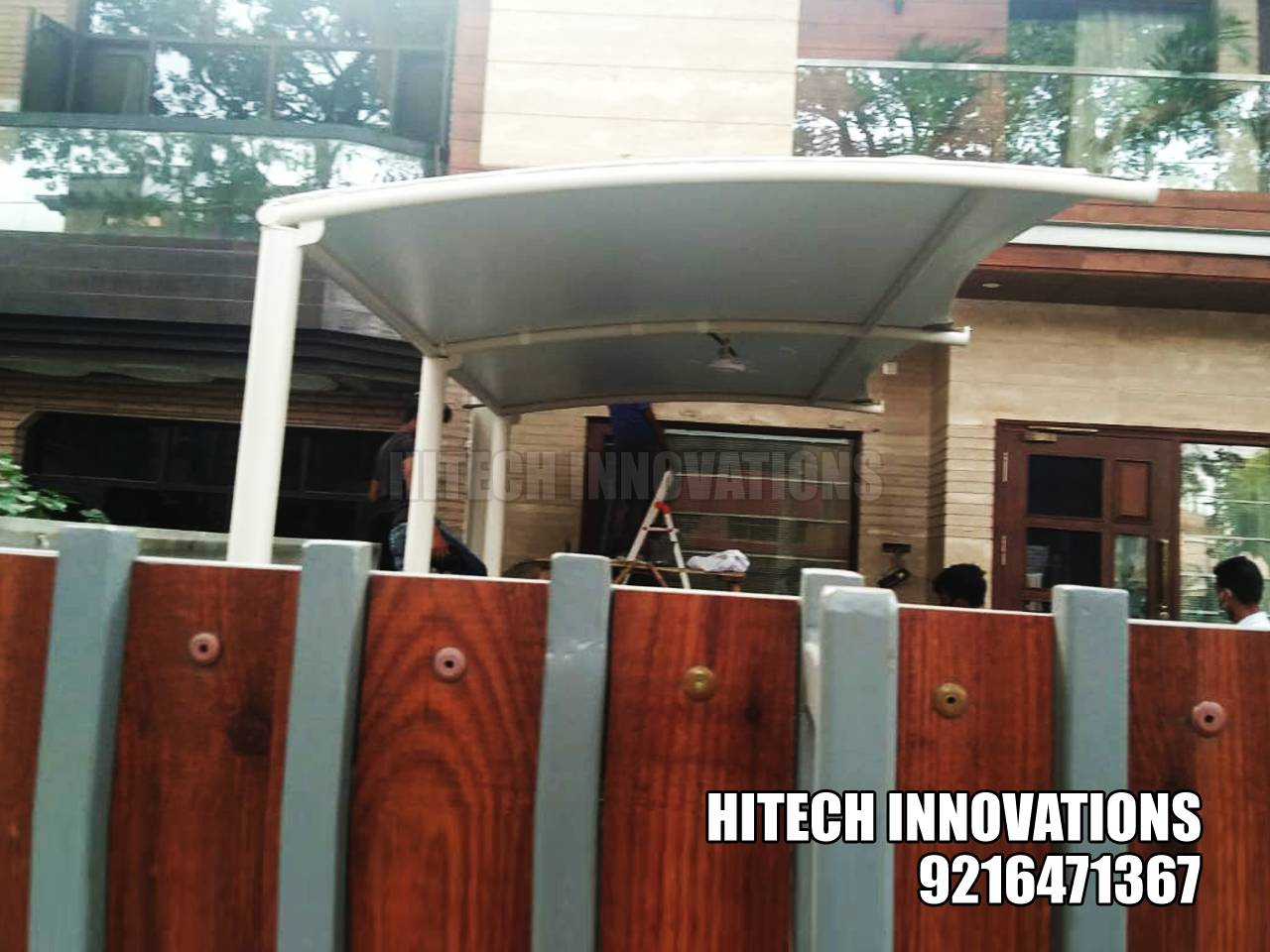 Completed Car Shed in Ludhiana