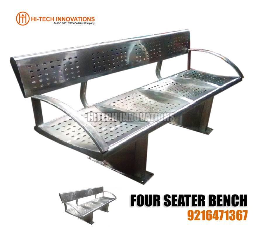 Four Seater Bench - Design 4