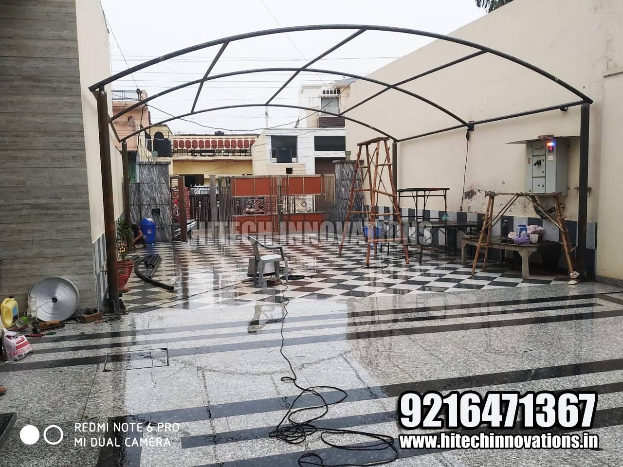 Making Car Tractor Tensile Shed in Faridkot
