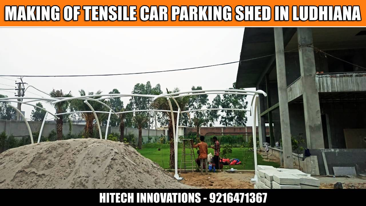 New Car Parking Shed in Ludhiana