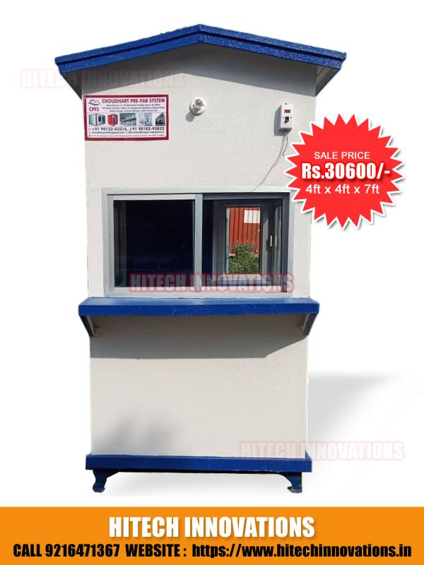 Security Cabin Price Rs. 30600
