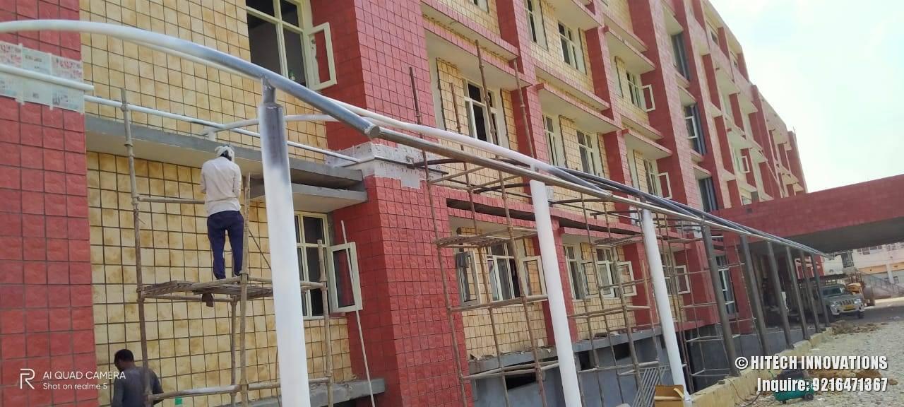 Tensile Structure Civil Hospital Ludhiana
